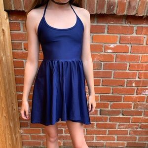 American Apparel Tricot Figure Skater Dress